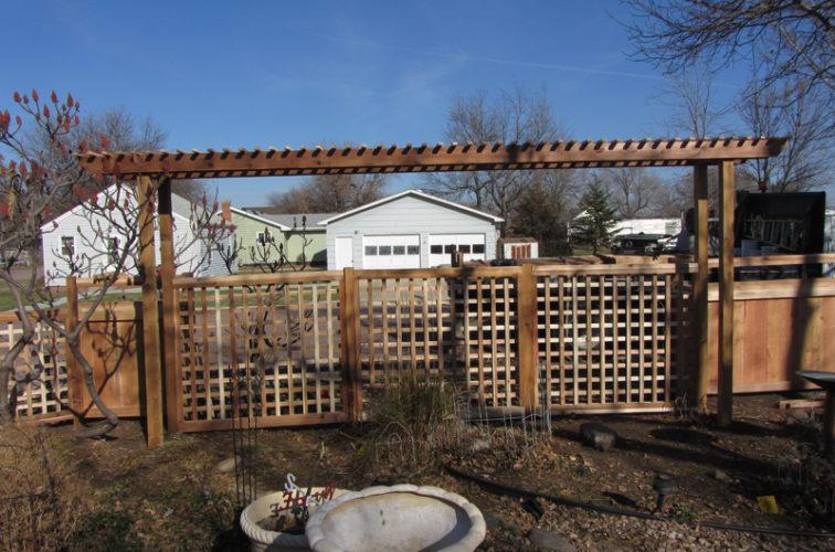 AFC Cedar Rapids - Wood Fencing, Custom Cedar 11
