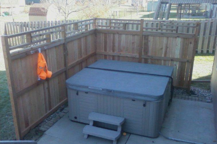 AFC Cedar Rapids - Wood Fencing, Custom Cedar Privacy 08