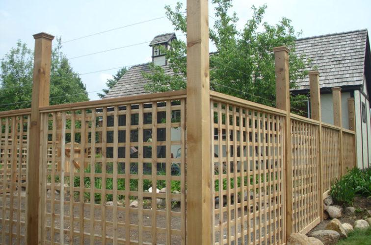 AFC Cedar Rapids - Wood Fencing, Custom Garden Fence 2 AFC, SD
