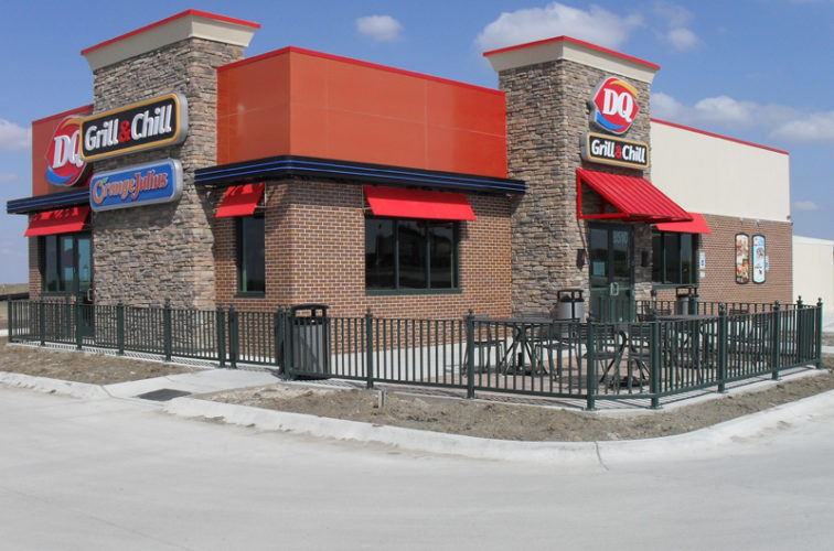 AFC Cedar Rapids - Ornamental Fencing, Dairy Queen