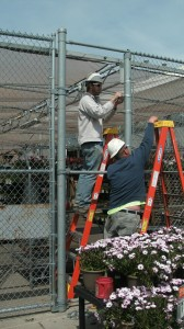AFC Iowa City Iowa - Chain Link Fencing