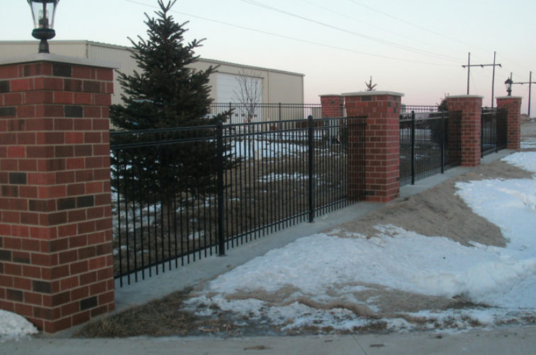 AFC Cedar Rapids - Ornamental Fencing