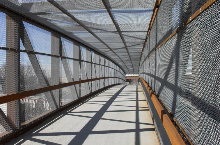 AFC Cedar Rapids - Chain Link Fencing, Holdrege Street Bridge Inside
