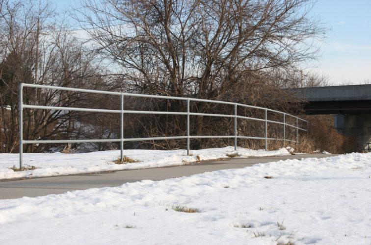 AFC Cedar Rapids - Custom Railing