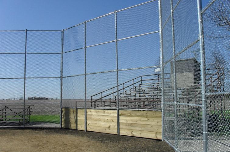 AFC Cedar Rapids - Sports Fencing, Johnson Brock Ballfield
