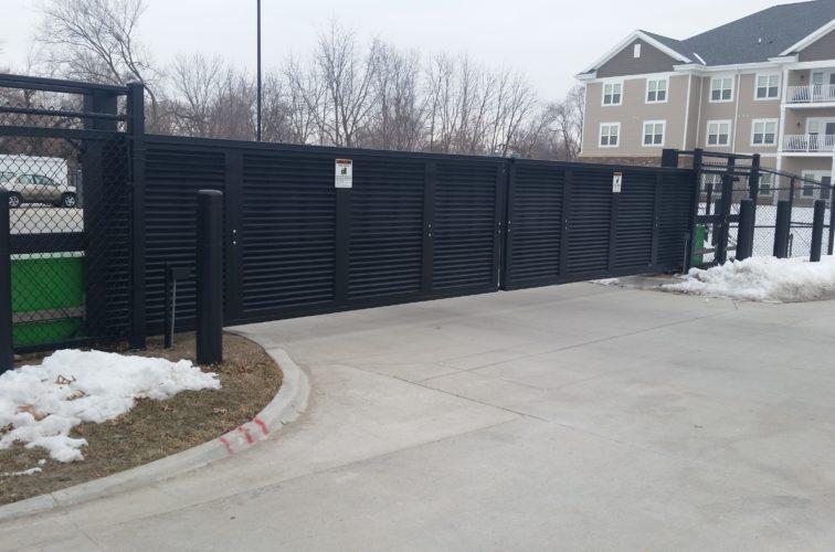 AFC Cedar Rapids - Johnson Public Safety - Vehicle Restraint Gates 4