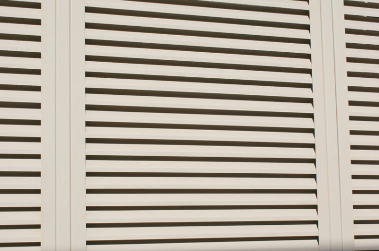 AFC Cedar Rapids - Louvered Fence Systems Fencing, Louvered Fence Panel