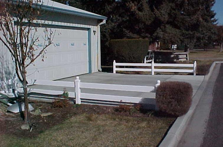 AFC Cedar Rapids - Vinyl Fencing, MVC-002S