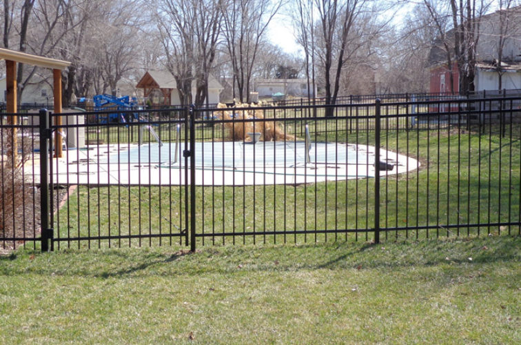 AFC Cedar Rapids - Ornamental Fencing, 5' - AFC-KC