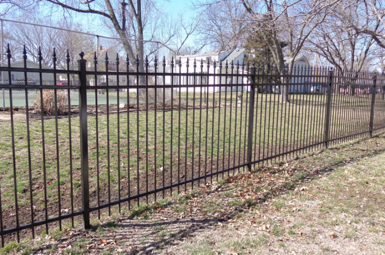 AFC Cedar Rapids - Ornamental Fencing, 5' with Quad Flares - AFC-KC