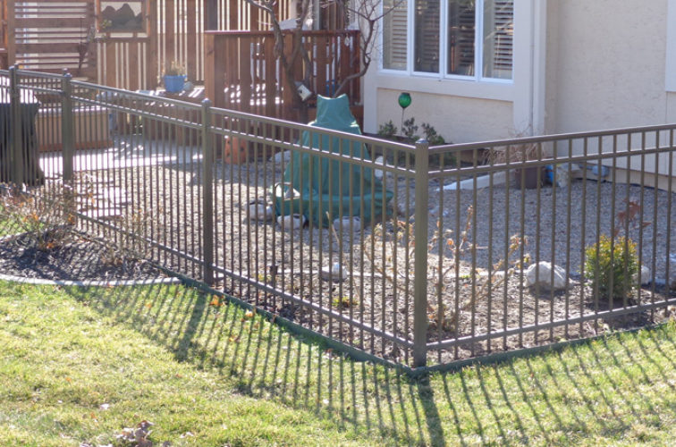 AFC Cedar Rapids - Ornamental Fencing, Bronze - AFC-KC