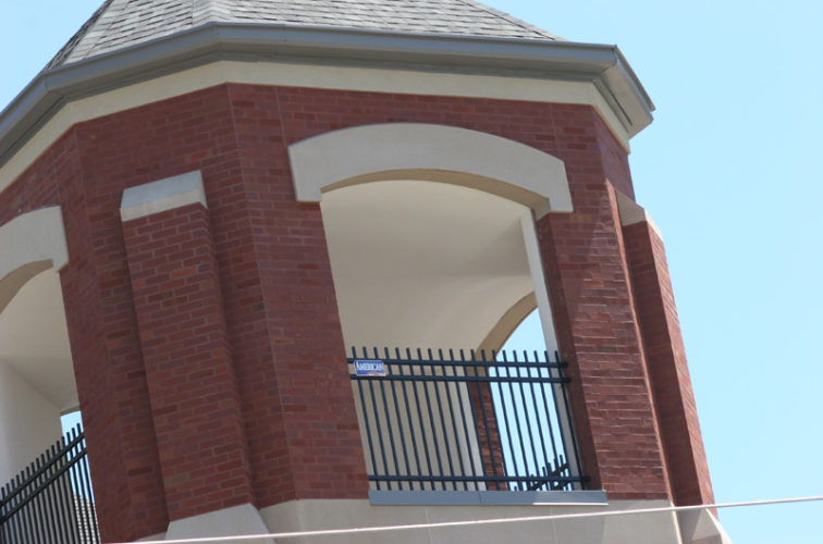 AFC Cedar Rapids - Ornamental Fencing, Ornamental Fence In Bell Tower (2)