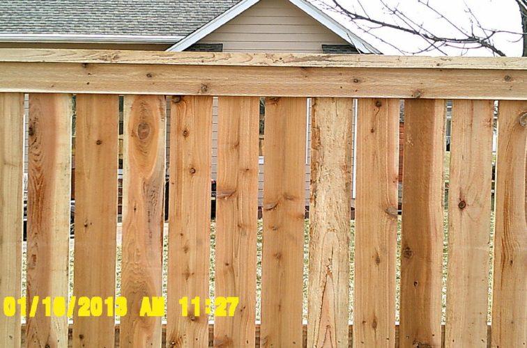 AFC Cedar Rapids - Wood Fencing, Picket Capboard - AFC - IA