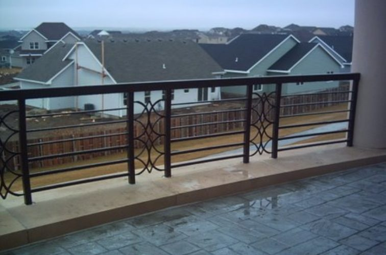 AFC Cedar Rapids - Custom Railing