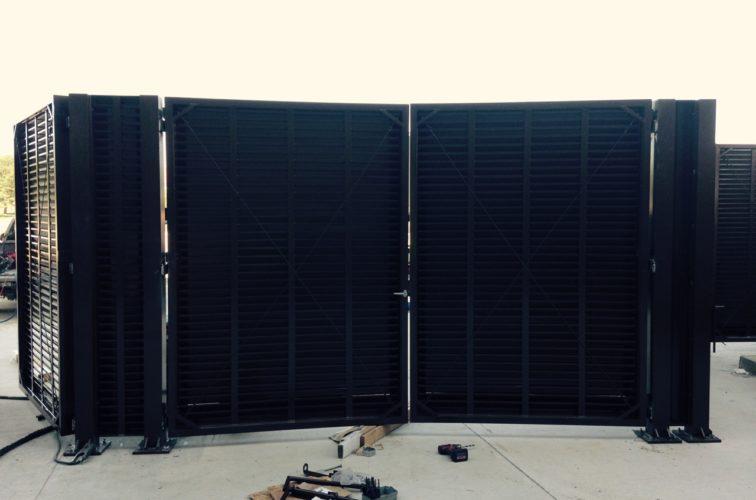 AFC Cedar Rapids - PalmSHIELD SDSU Gate Install