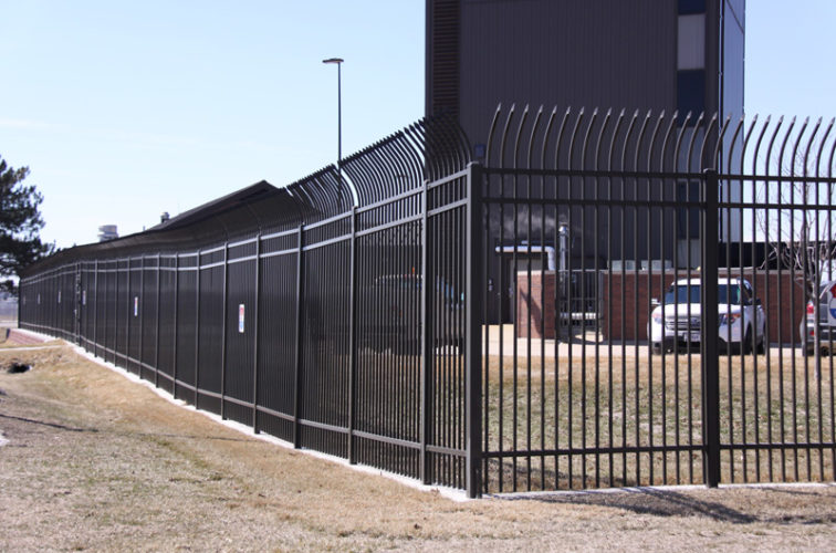 AFC Cedar Rapids - Ornamental Fencing, Radius Picket Ornamental Fence System