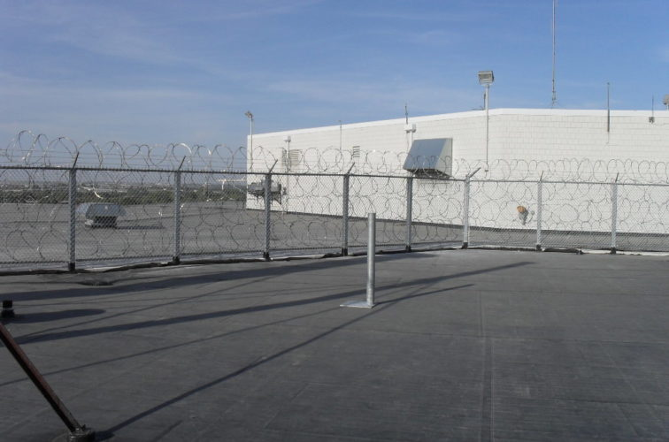 AFC Cedar Rapids - High Security Fencing, Rooftop Concertina