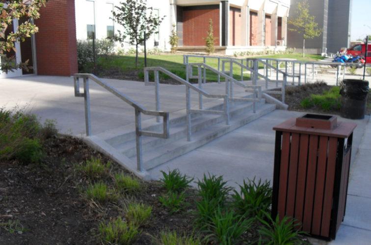AFC Cedar Rapids - Custom Railing, UNL Handrail