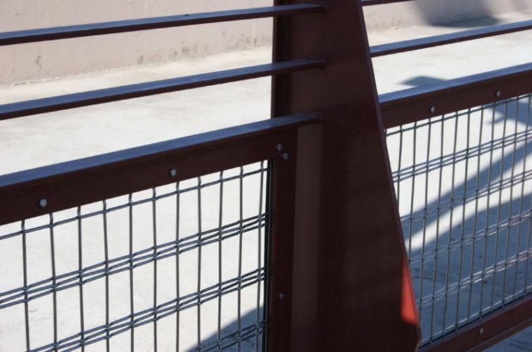 AFC Cedar Rapids - Custom Railing, Vine 1