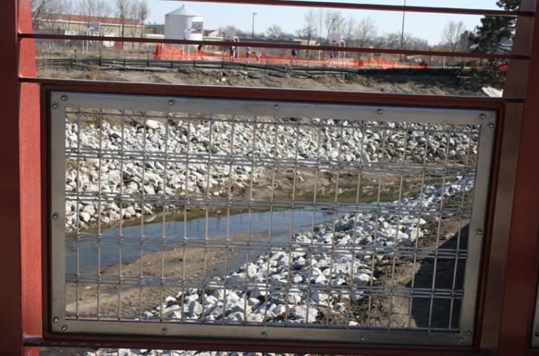AFC Cedar Rapids - Custom Railing, Vine 13