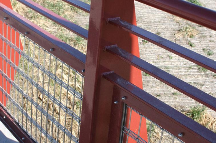 AFC Cedar Rapids - Custom Railing, Vine 15