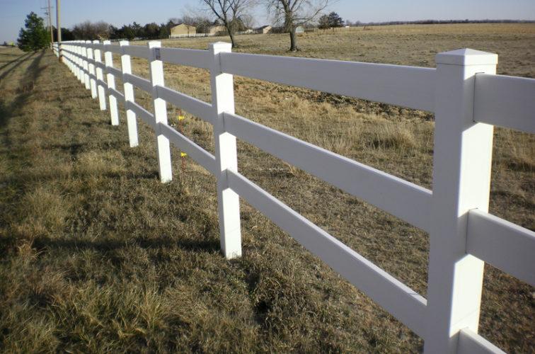 AFC Cedar Rapids - Vinyl Fencing, 3' Rail Ranch - AFC - Grand Island