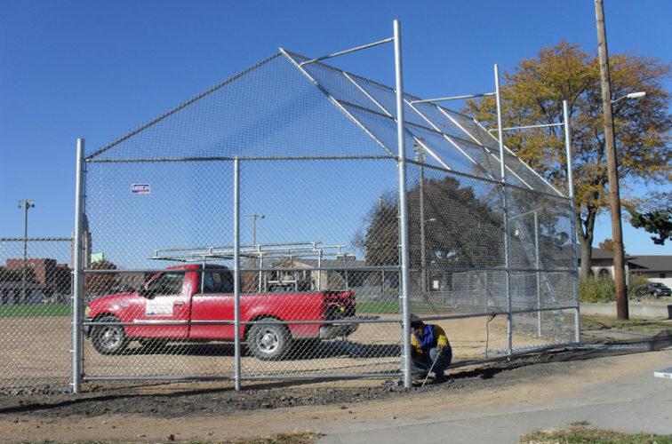 AFC Cedar Rapids - Sports Fencing, Backstop