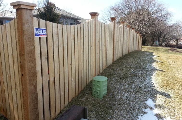 AFC Cedar Rapids - Wood Fencing, Custom Wood 9922 Devonshire