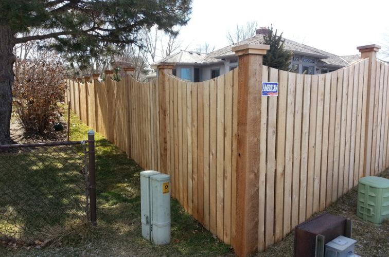 AFC Cedar Rapids - Wood Fencing, Custom WD 9922 Devonshire