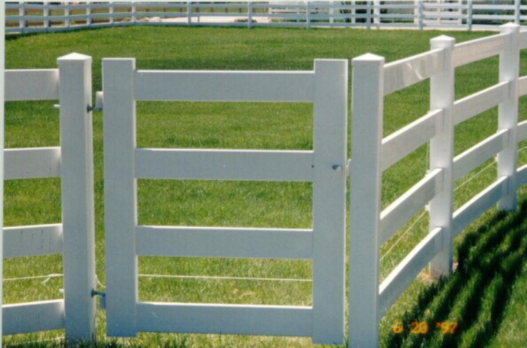 AFC Cedar Rapids - ranch style gate