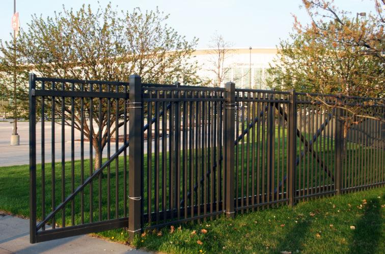 AFC Cedar Rapids - Cantilever Gate Bronze