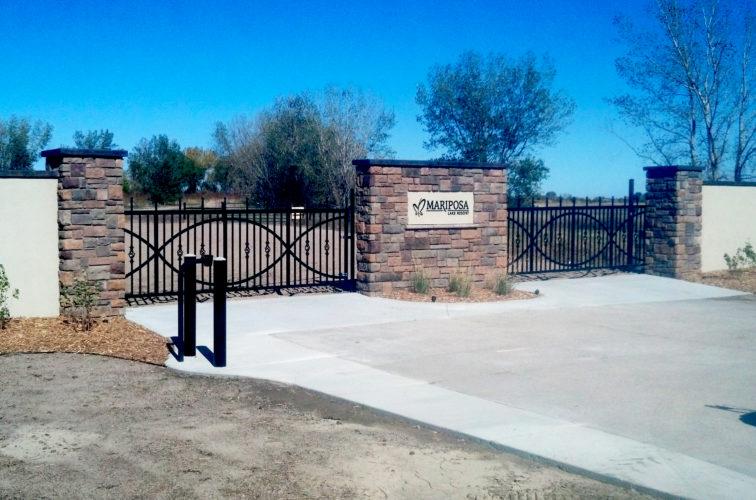 AFC Cedar Rapids - Mariposa Resort Custom Gate